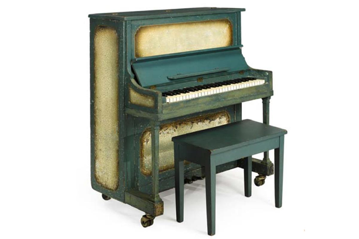 The Casablanca 58-key mini-piano that is up for auction (Photo: Sotheby's)