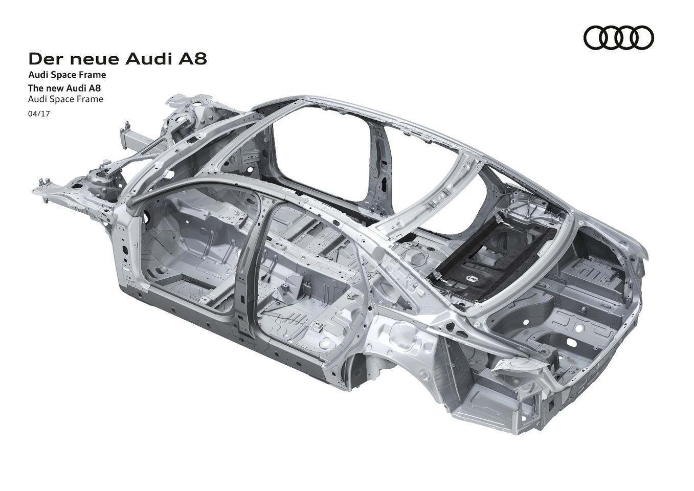 New Audi A8 creates a brilliant harmony of style, tech and