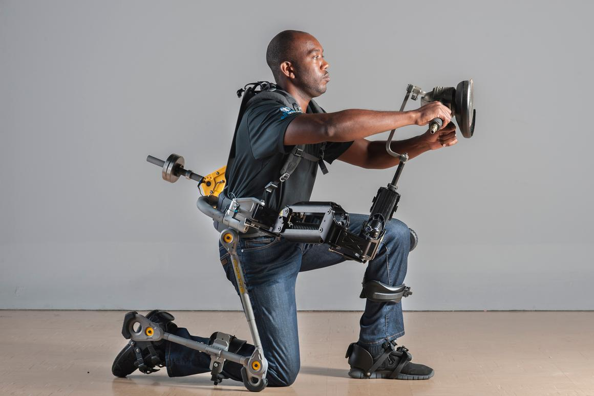 Lockheed Martin is providing the US Navy with two Fortis exoskeletons