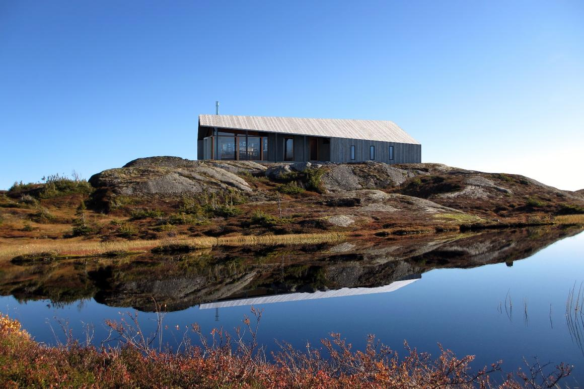 The cabin is named Gapahuk, which is the name of an improvised Norwegian shelter