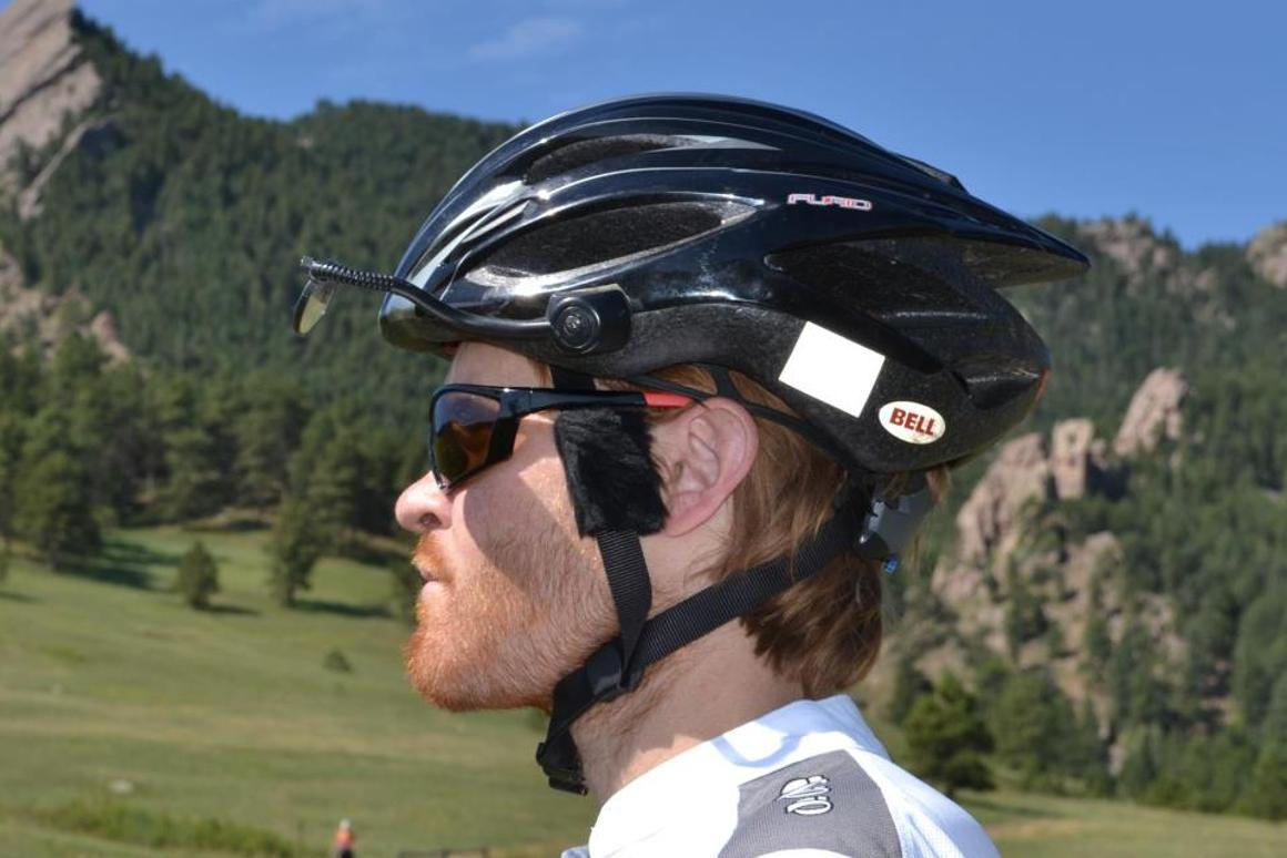 Cat-Ears are bicycle helmet attachments that are claimed to reduce wind noise in the cyclist's ears