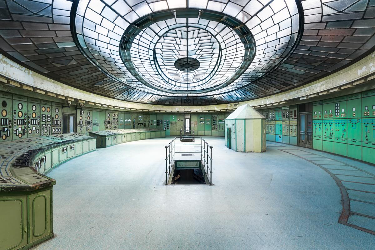 Roman Robroek from the Netherlands took this photo of a power station inHungary. It was entered into the Interior category and alsopreviously featured in the Art of Building awards