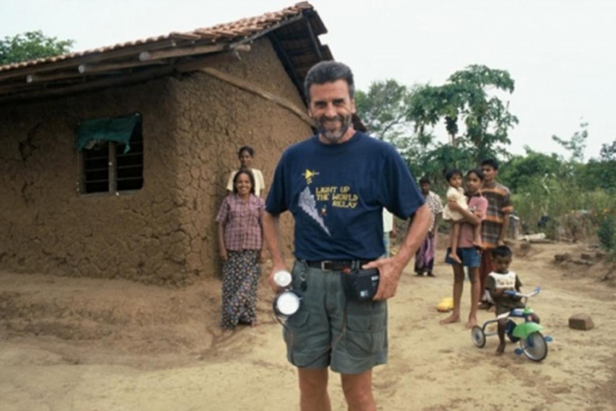 Photonics engineer Dave Irvine-Halliday(c) Rolex / Xavier Lecoultre