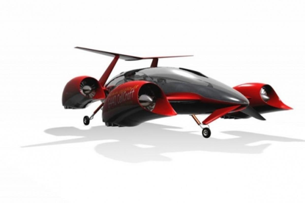 Gizio's G440 flying car concept