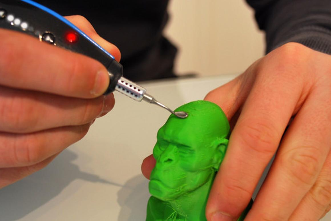 Retouch3D melts away flaws on a variety of 3D-printed materials