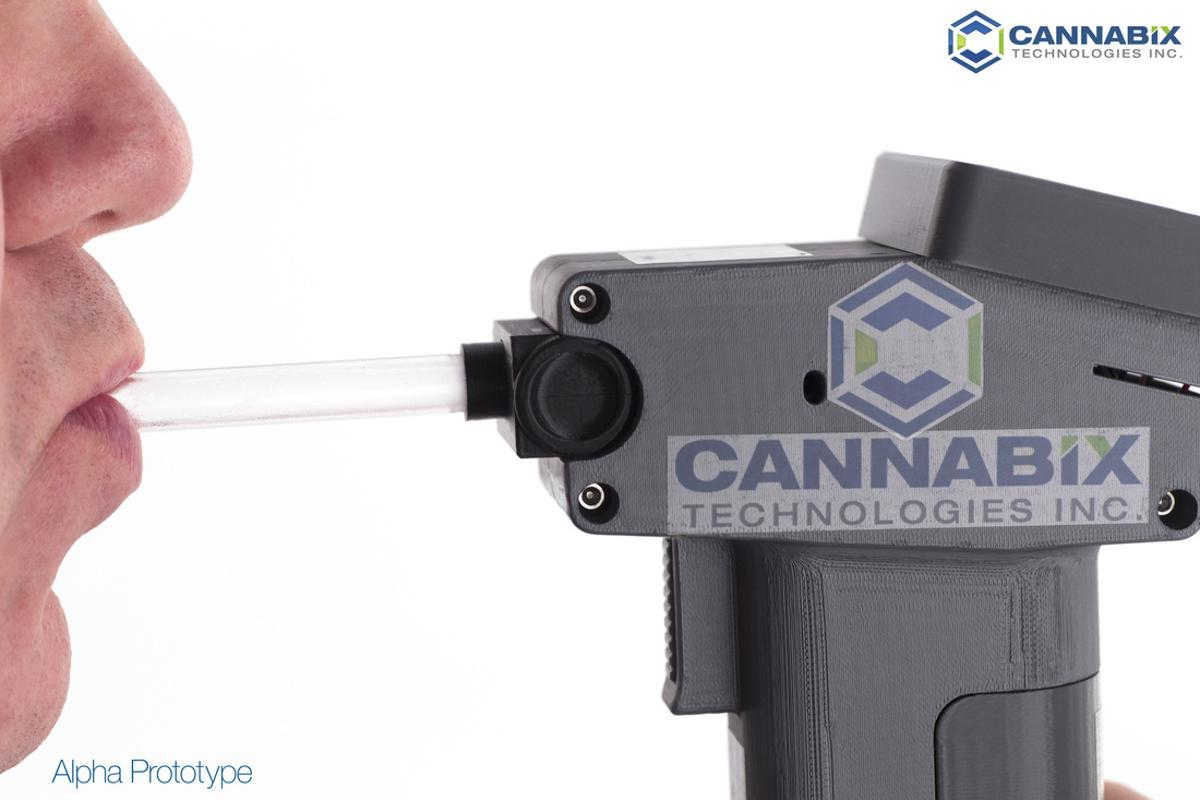 Cannabix claims its system will detect THC use within a two hour period and provide instant positive or negative results
