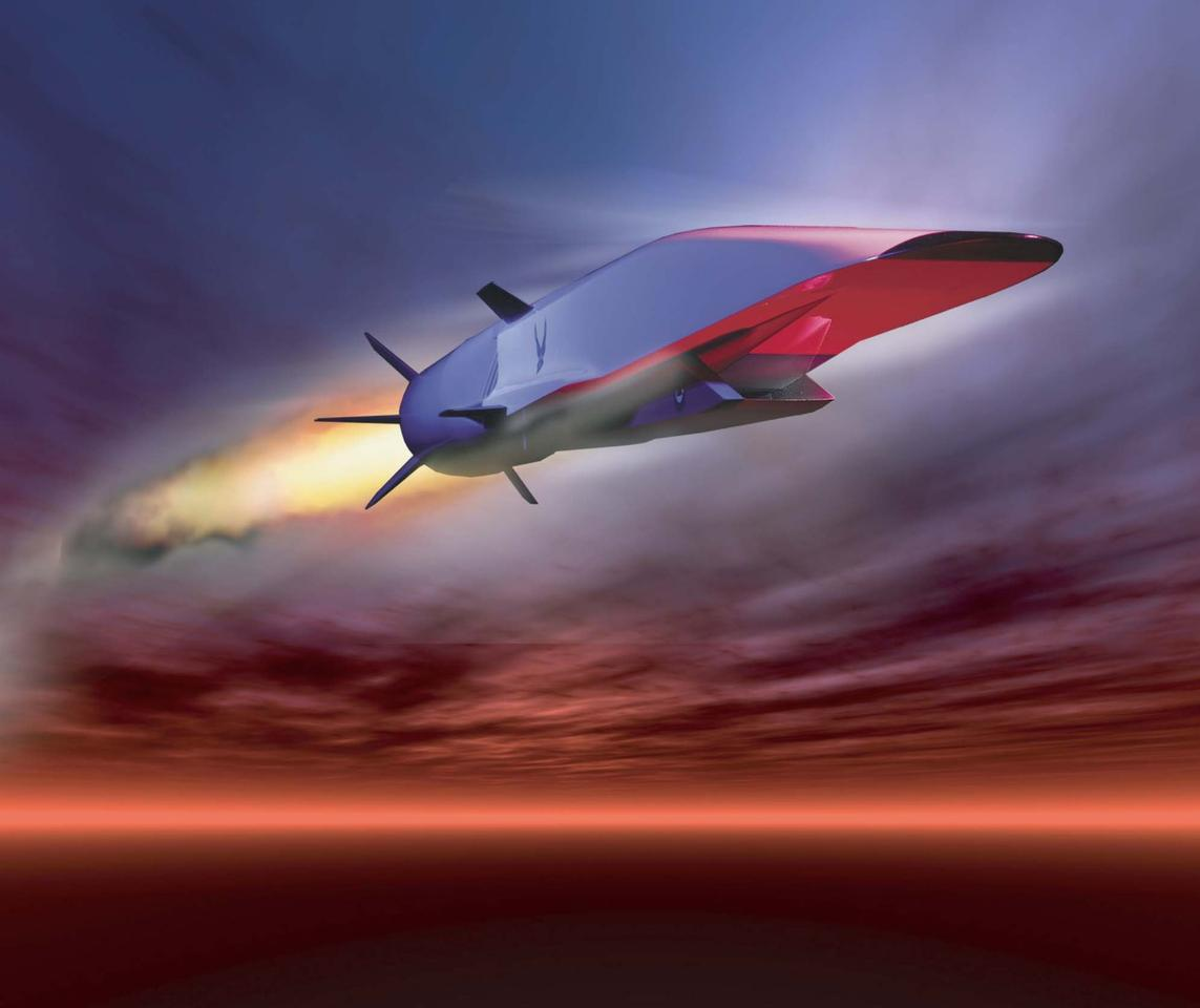 The X-51 hypersonic test vehicle