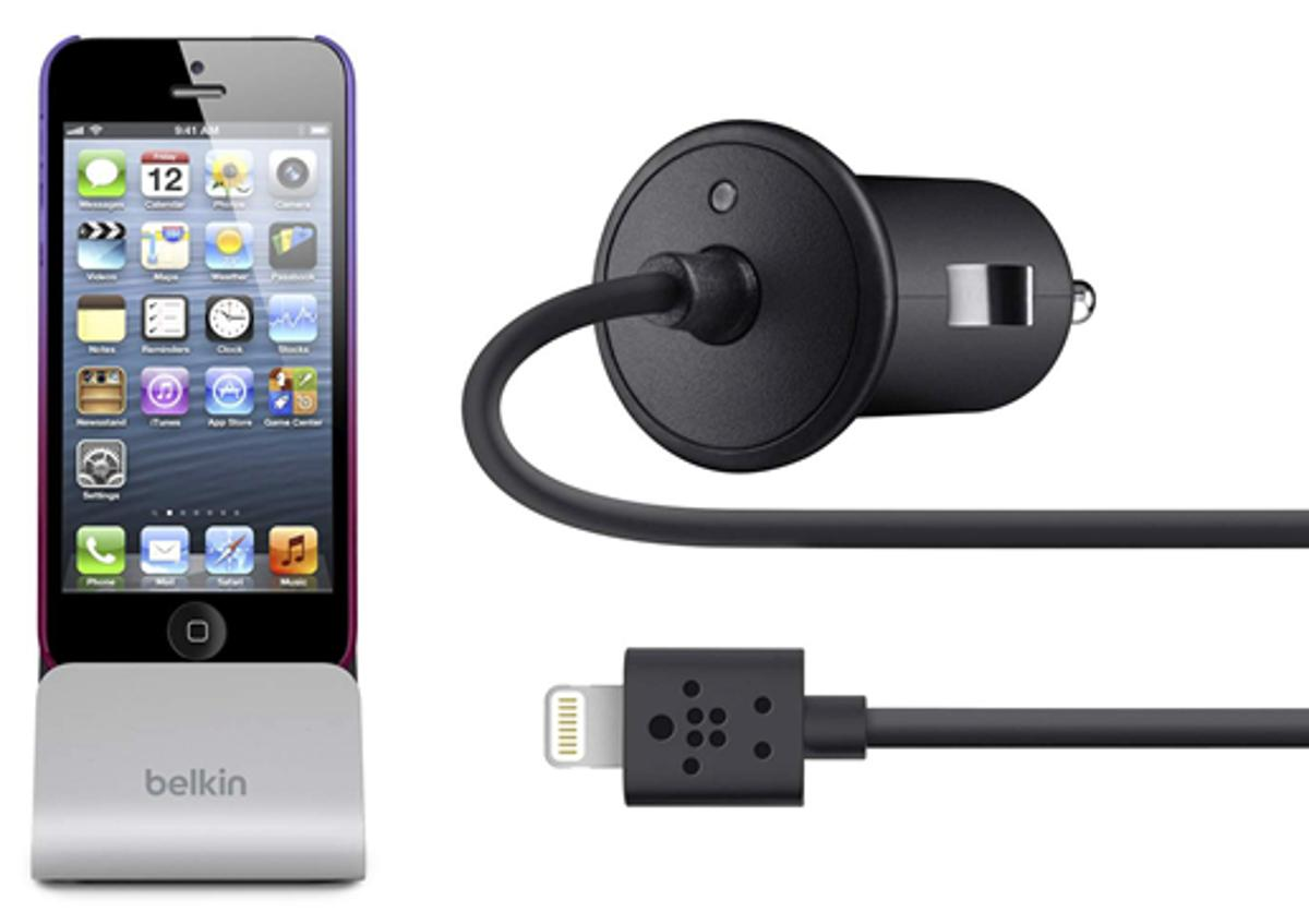 Belkin announced today that it will be the first third-party manufacturer to market with Lightning accessories for the latest Apple devices