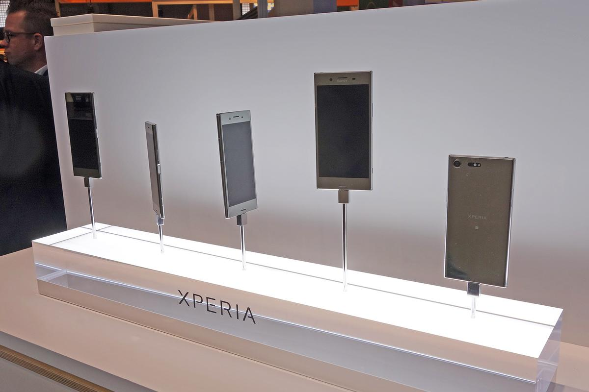 Sony had four new phones to announce at Mobile World Congress.