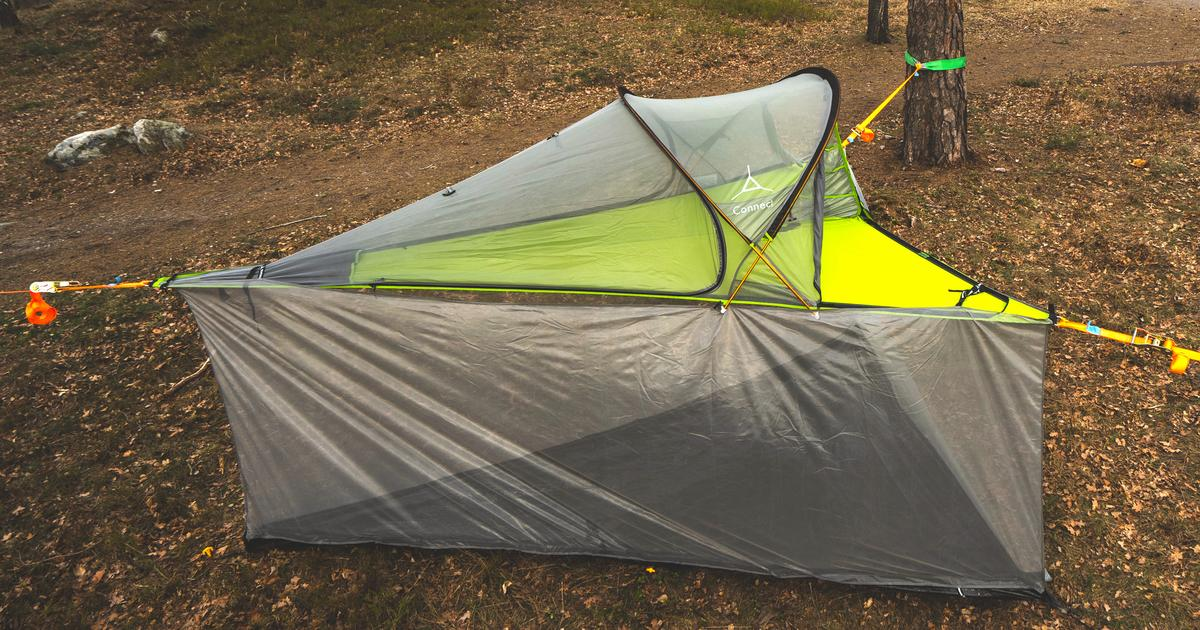 Tentsile tents leap between air and ground with new conversion kits