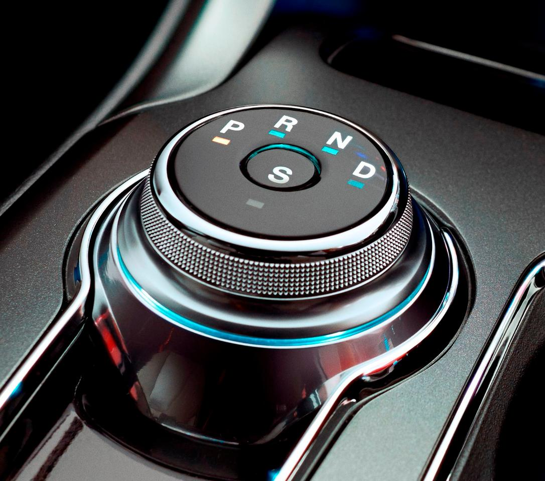 Return to Park debuts as a standard feature in the 2017 Ford Fusion and has been made possible by the inclusion of a rotary shift dial in the vehicle
