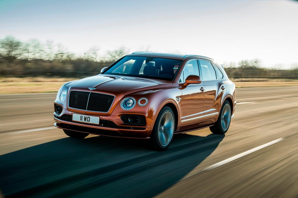For the past decade or so, the Speed label on Bentley products has meant outlandish amounts of power