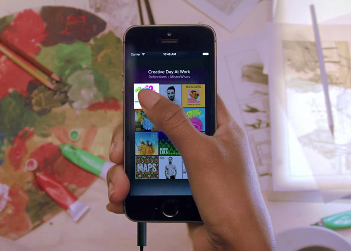 Spotify is available across mobile, desktop and the web