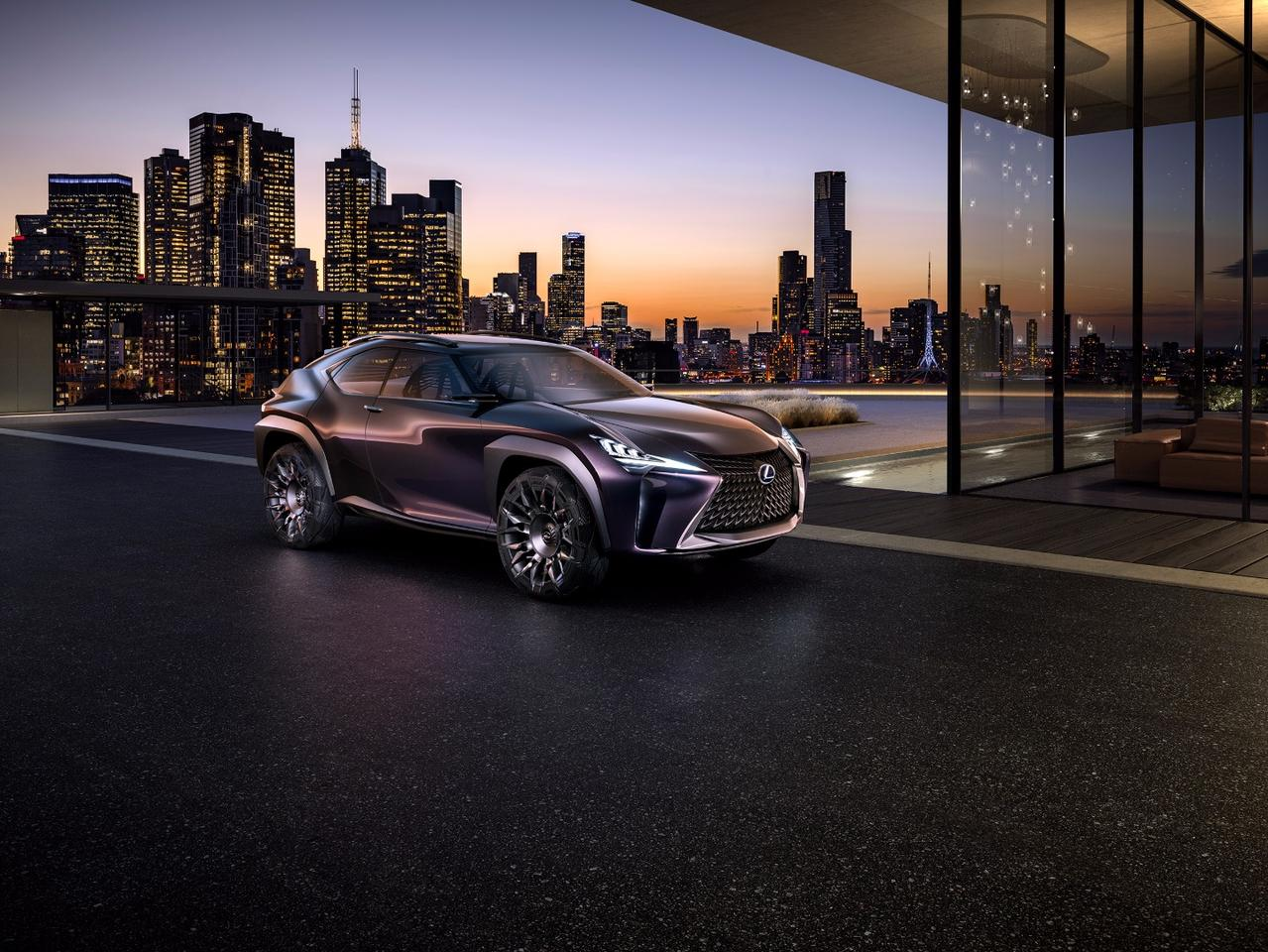 Lexus designed and revealed the UX in France
