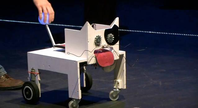 The Bacarobo Stupid Robot Championship is a contest for robots that are funny and useless