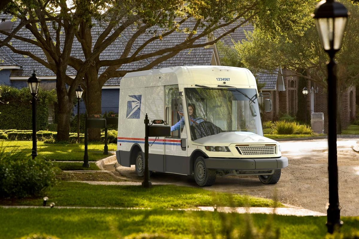 A preview of the next-generation US mail truck