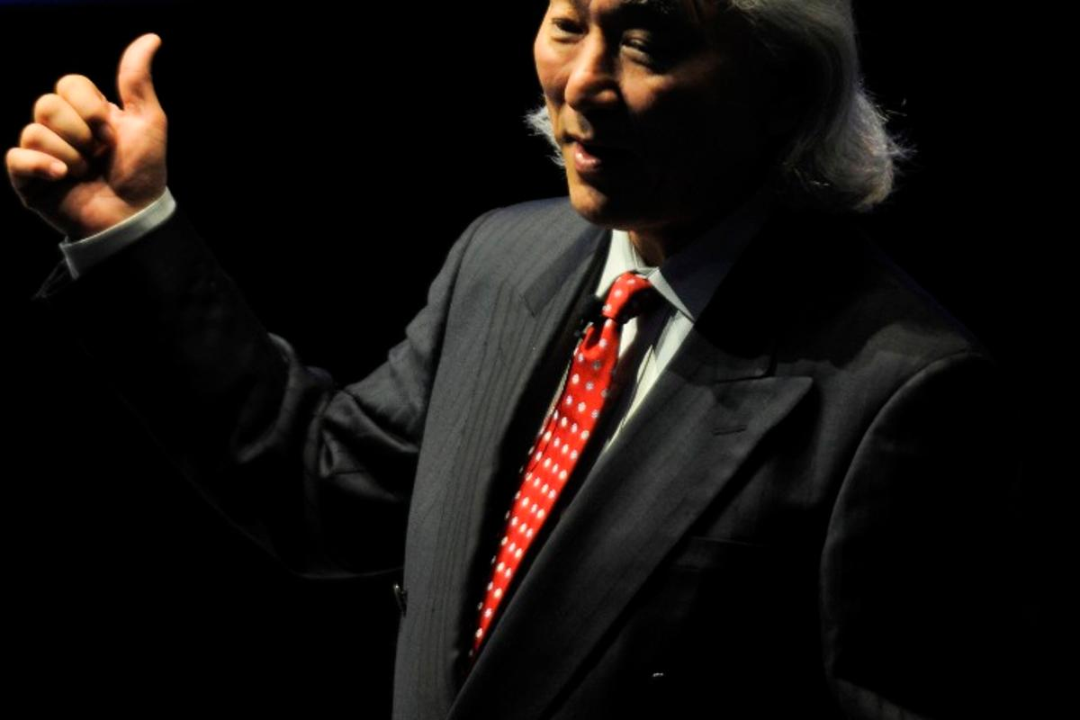 Michio Kaku at the 2011 Campus Party Mexico.