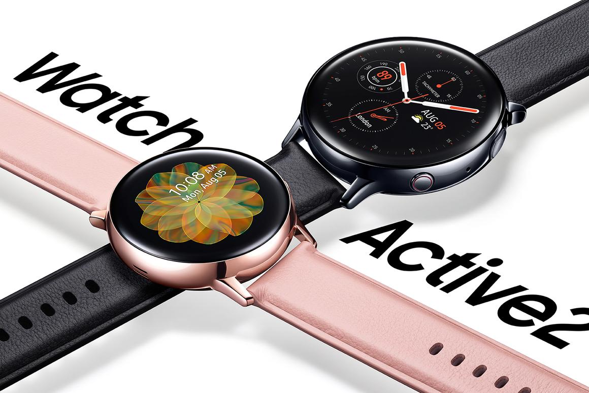 Samsung launches the Galaxy Watch Active2 smartwatch with a