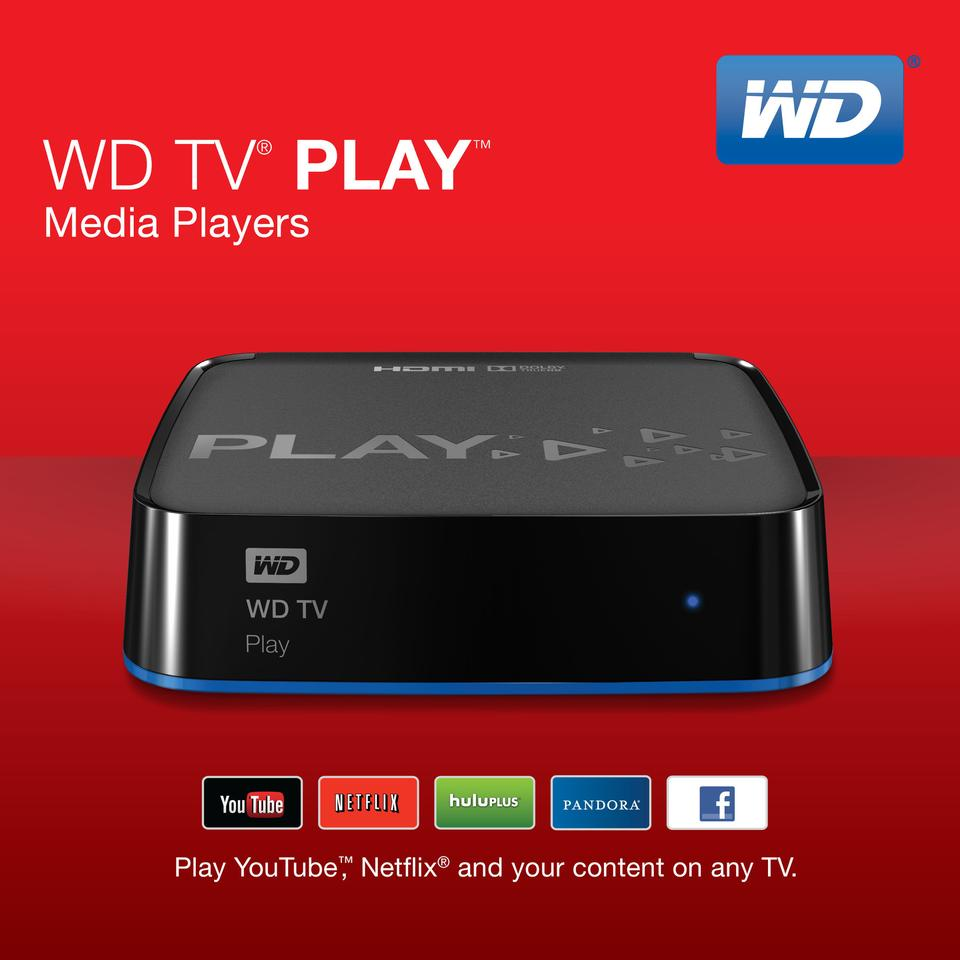 Western Digital's TV Play low-cost streaming box