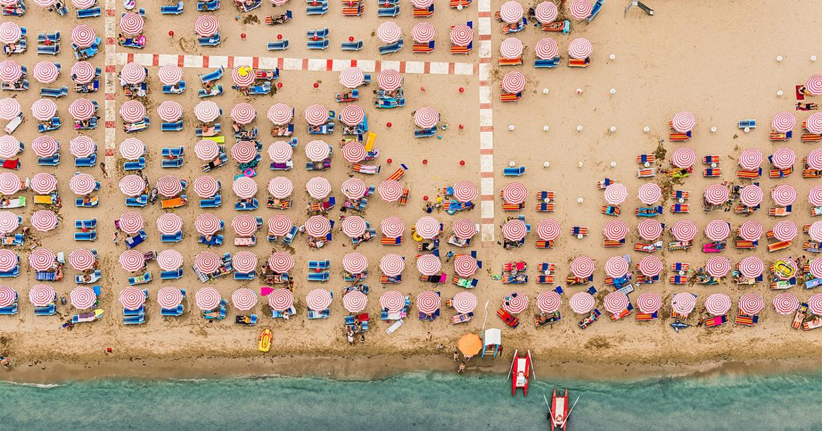 The extraordinary aerial photography of Bernhard Lang