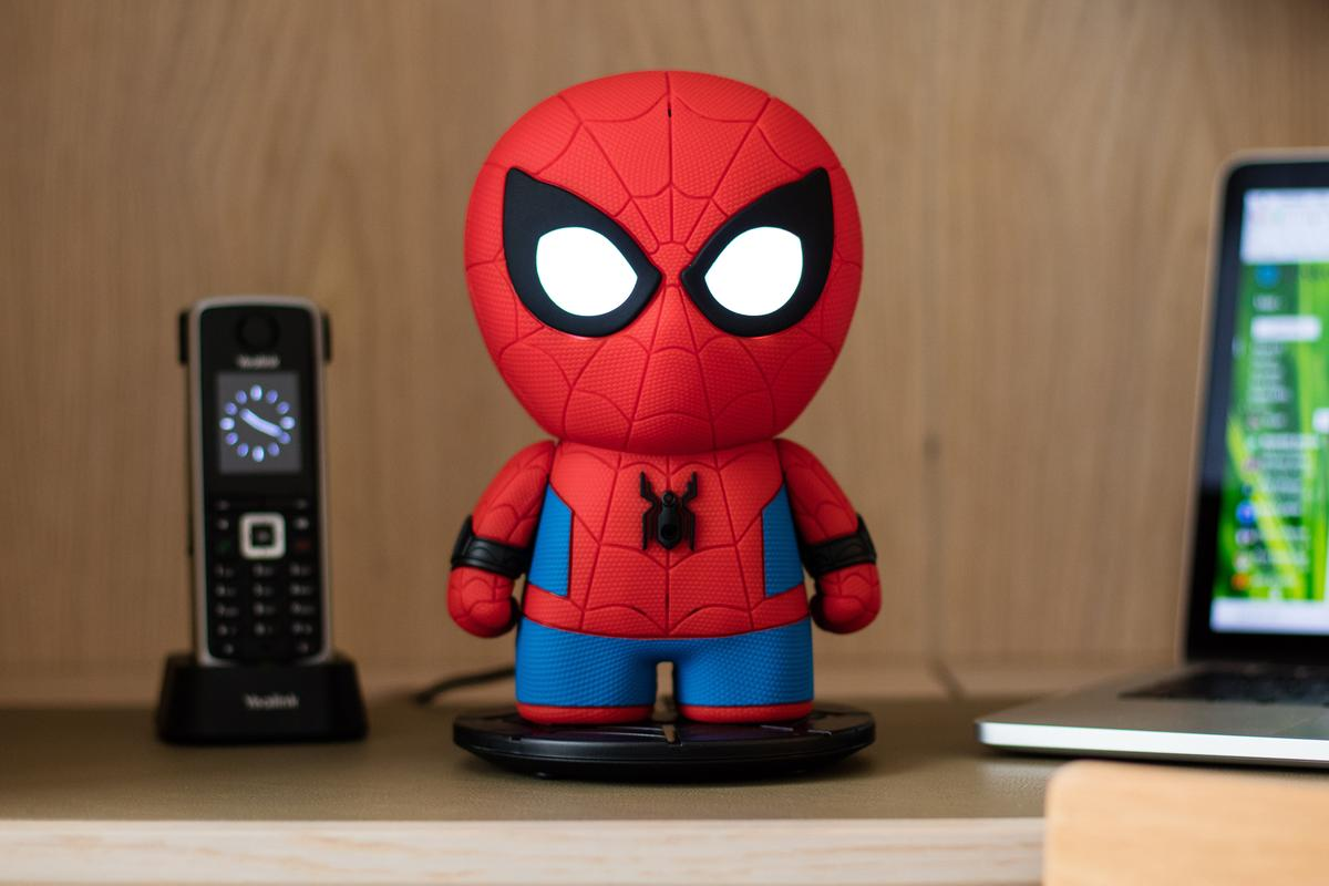 Sphero's new Spider-Man toy features voice recognition and can tell jokes or stories and play games