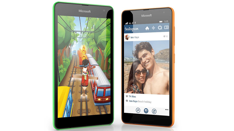 Microsoft's Lumia 535 drops the Nokia branding, has 5 MP