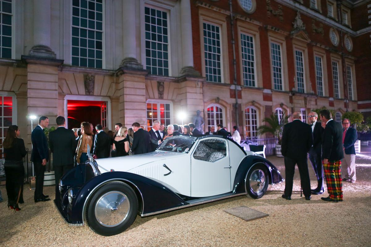 The 2021 Concours of Elegance presented by A. Lange & Söhne 'Best in Show' award, voted by the owners of the cars on display, went to this Voisin C-27 Aérosport.