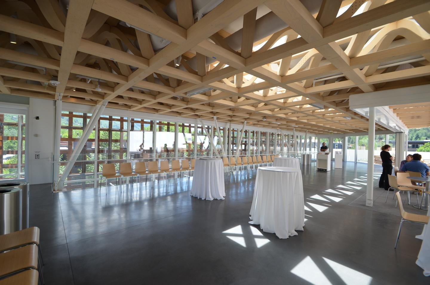 The Aspen Art Museum, by Shigeru Ban Architects won the Regional Excellence award