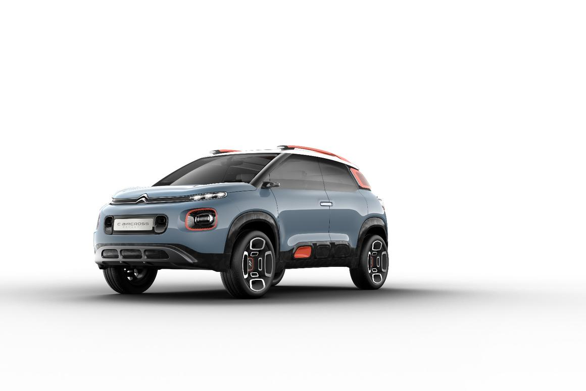 The new CitroenC-Aircross Concept previews a production compact SUV