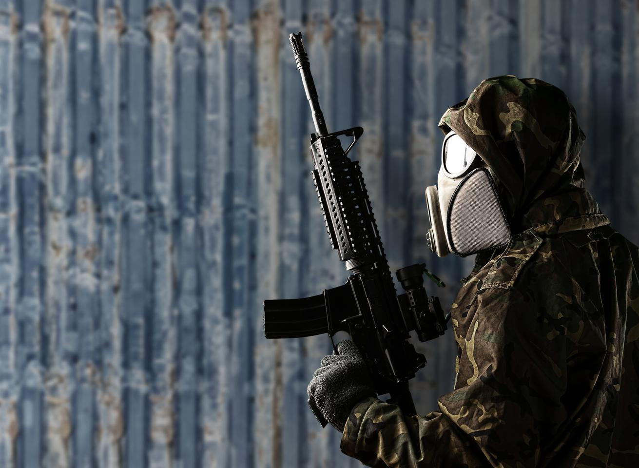 Teledyne FLIR will develop a chemical sensor designed to be worn by individual US soldiers (not pictured)
