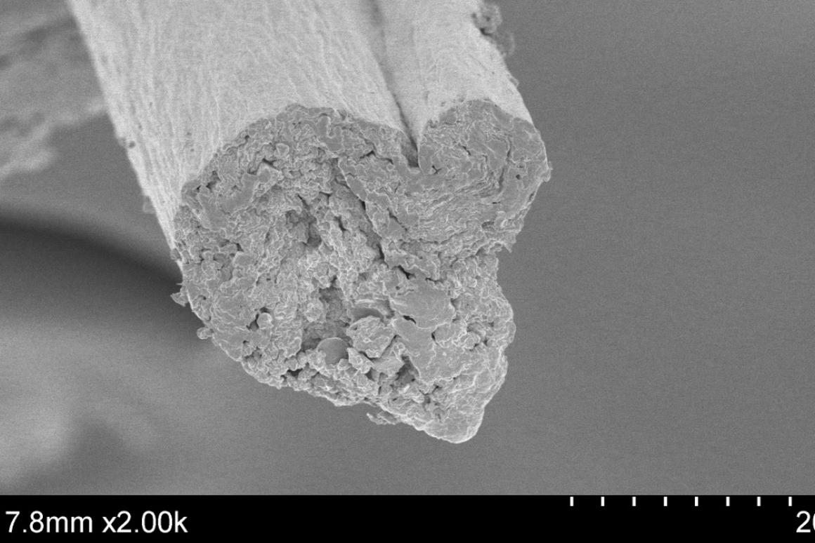 Fiber made from cellulose claimed to be as strong as steel