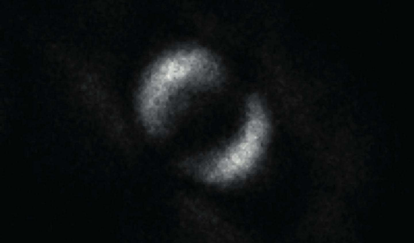 The first ever image of quantum entanglement