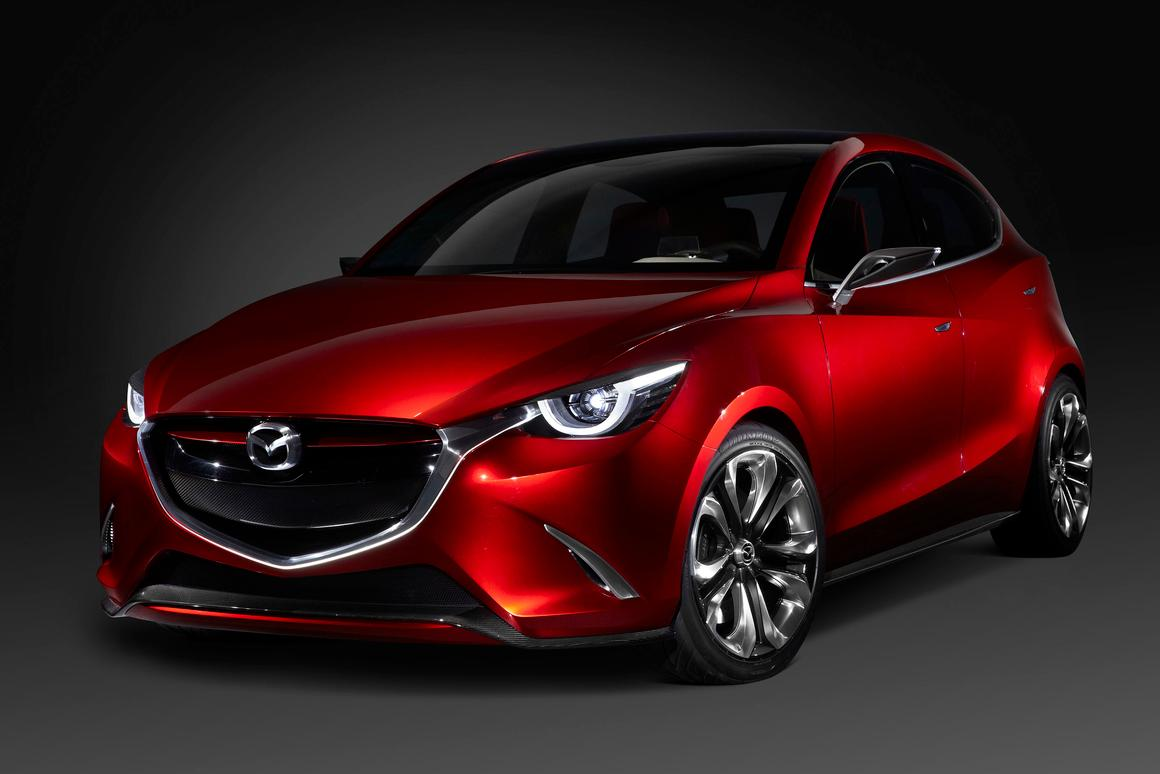 The Hazumi concept points towards the new Mazda 2, which will be the first car to feature the engine