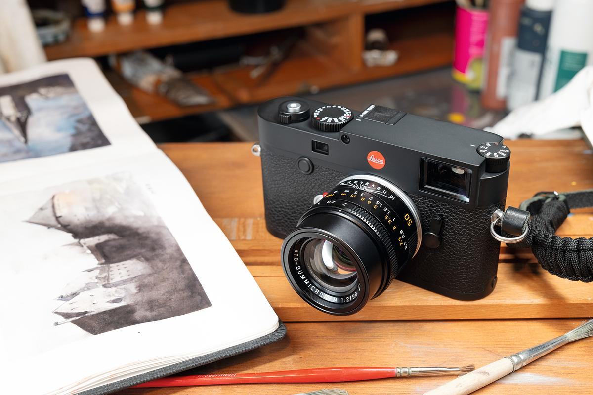 The Leica M10 family has a new flagship, the 40-megapixel M10-R