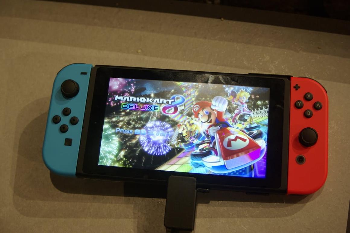 New Atlas goes hands-on with the Nintendo Switch