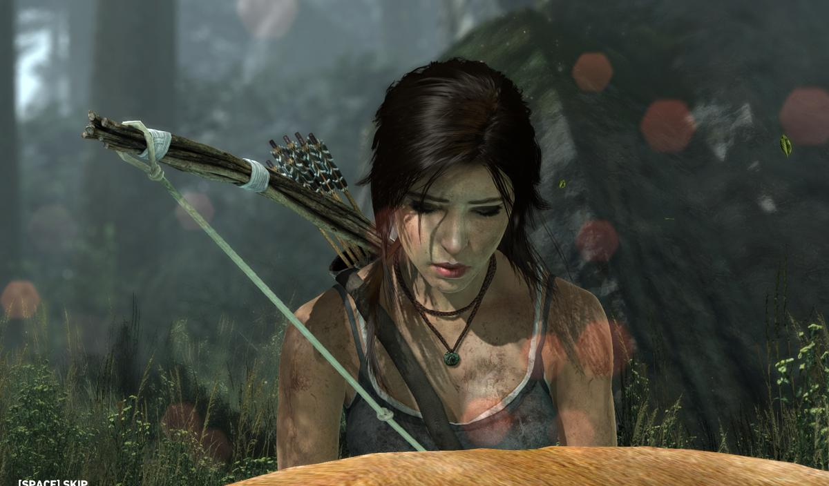 Realistically-rendered hair promised by AMD's TressFX technology will change the look of video game characters (such as Lara Croft) in coming years