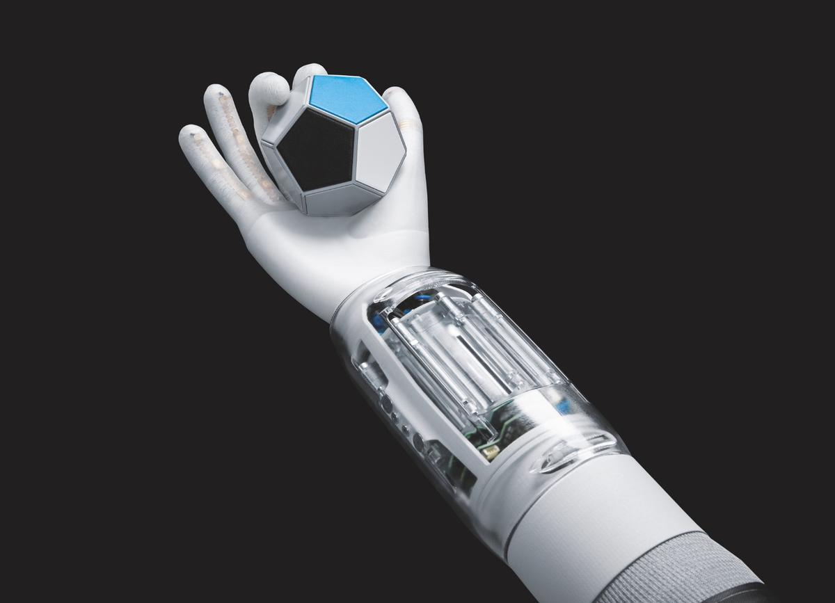 The BionicSoftHand is the latest creation from German pneumatic and electric automation company Festo