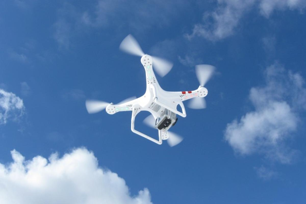 CNN has been given the green light to use drones as part of its newsgathering operations (Photo: Ben Coxworth/Gizmag.com)