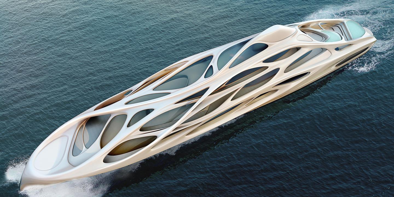 Zaha Hadid's master concept