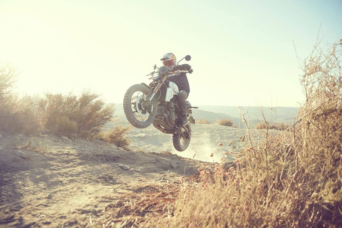 """The Indian FTR1200 """"Rally"""" accessory pack is focused onoff-road fun and games"""