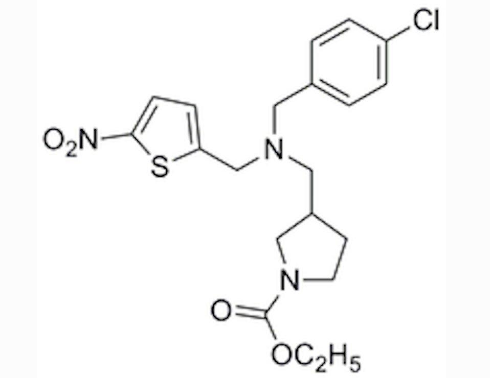 Drug candidate SR9009 is a simple molecule that produces significant benefits (Image: The Scripps Research Institute)