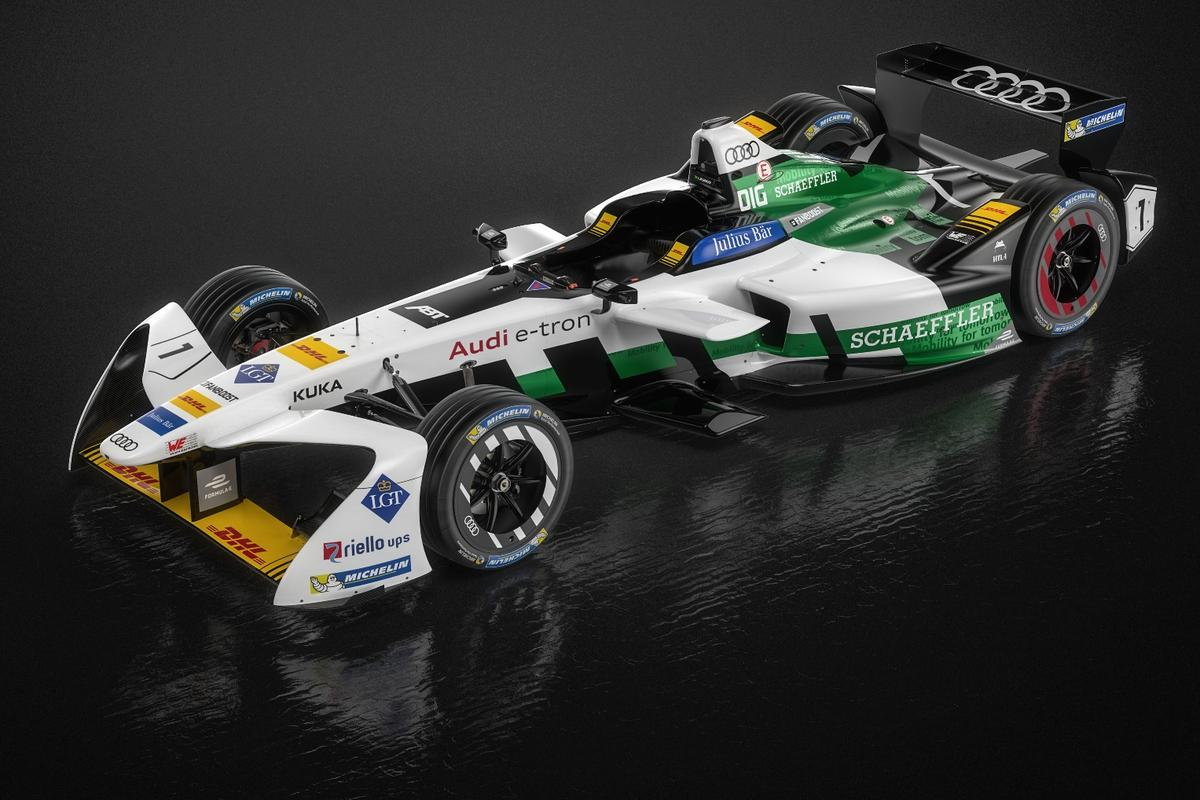 The first factory-backed Formula E entry from Audi