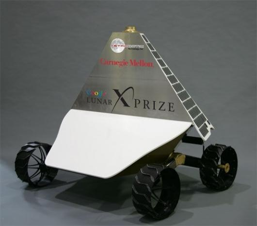 The main body of the robot is designed to reflect heat back into space