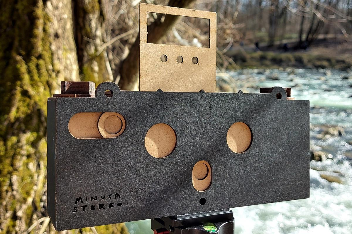 The Minuta Stereo stereoscopic camera is currently on Kickstarter