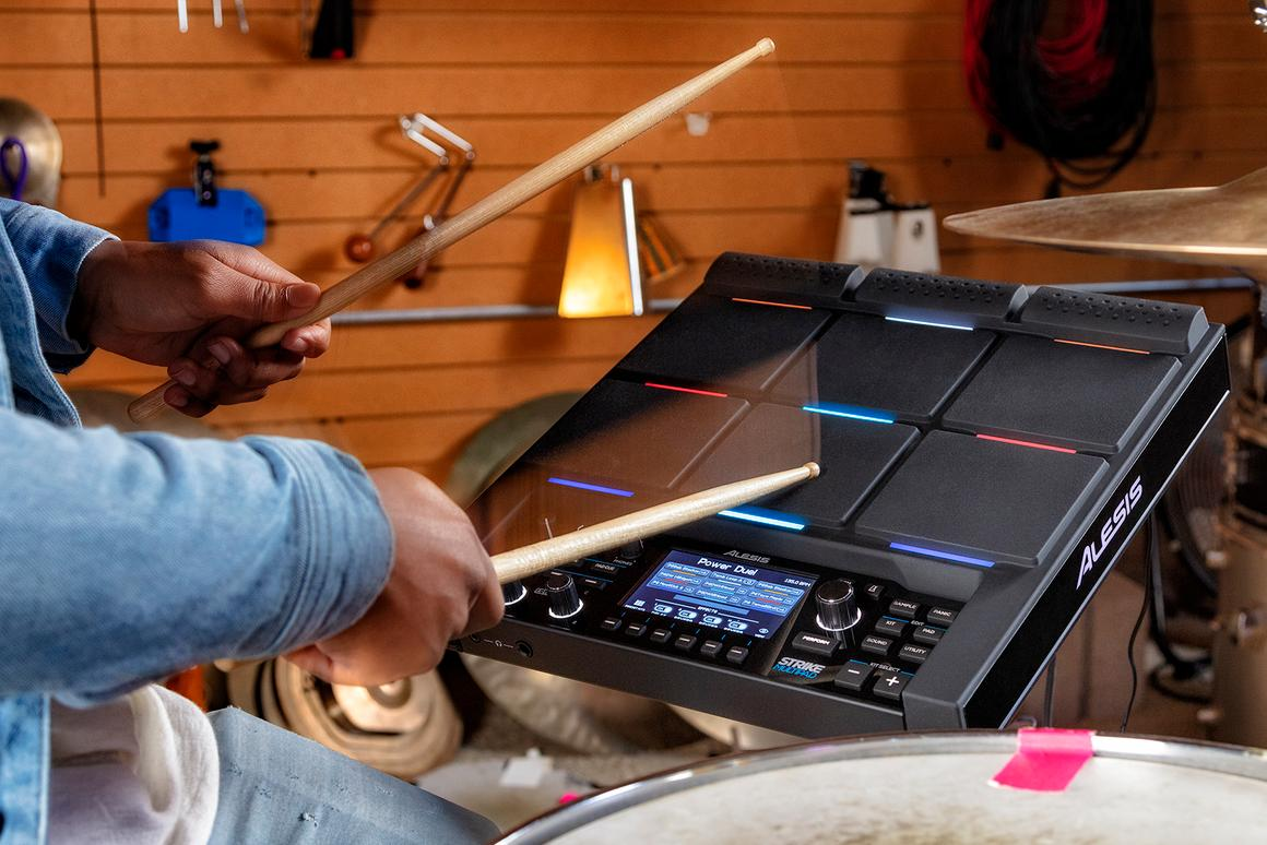 The Strike MultiPad ships with a special edition of Pro Tools First DAW and Ableton Live Lite