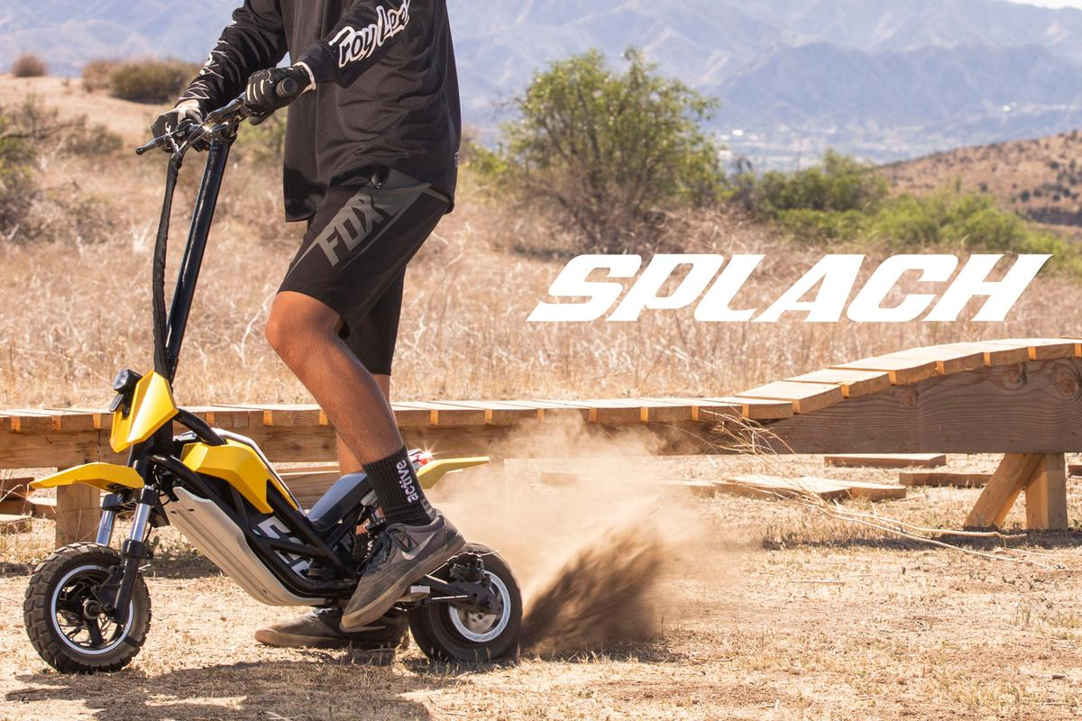 The proprietary hub motor is reckoned good for up to 24 mph, and can take on inclines of 28 percent