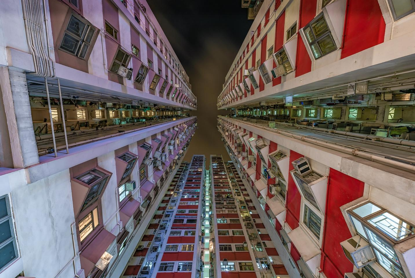 """I am always looking for geometry and symmetry obsessively in each composition and Hong Kong is a perfect place for it,"" Herlan says"