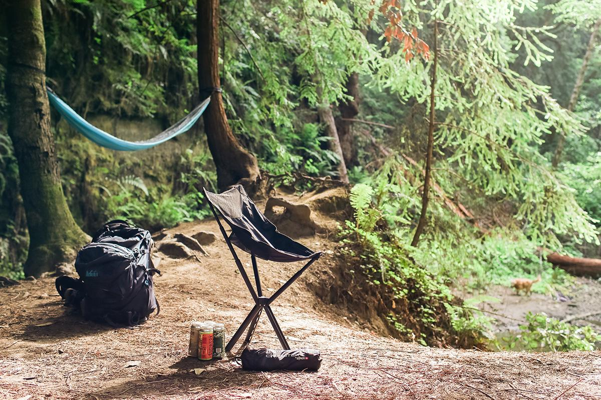 Sitpack offers an ultralight, packable camping chair that sits a little higher than the competition