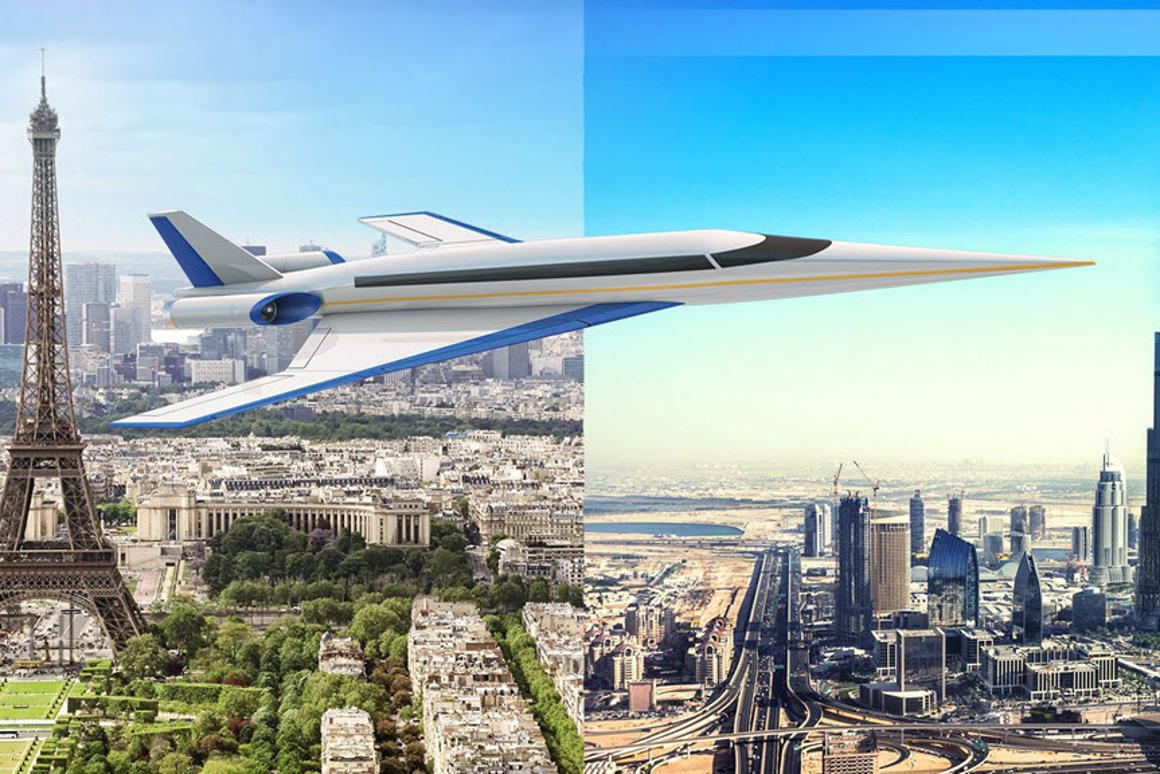 Spike aims for supersonic flights between Europe and Asia in the early 2020s