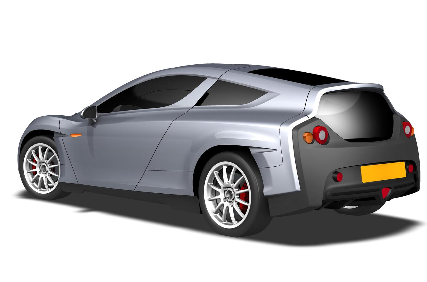 The Delta E-4 Coupe - can go from zero to 60 mph in less than five seconds and has a top speed of 139 mph